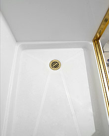 New Shower Base by Rebath Tricities